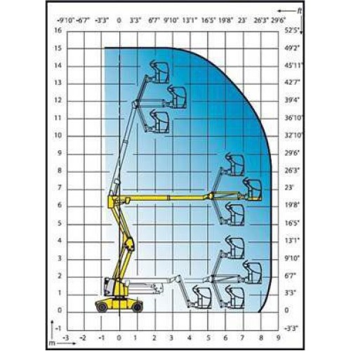 Коленчатый подъемник Haulotte  HA15 IP